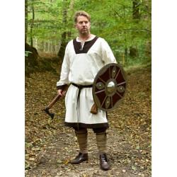 Petit bouclier viking en bois et acier