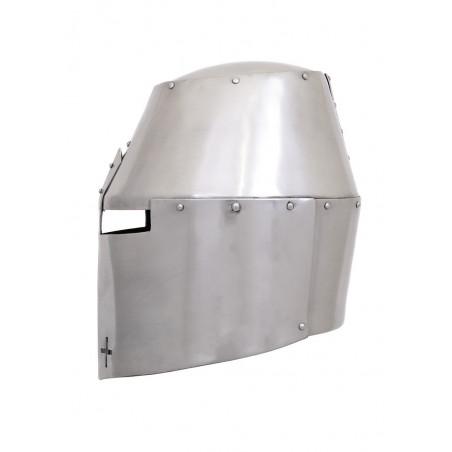Grand casque Pembridge, environ 1370, acier 2 mm