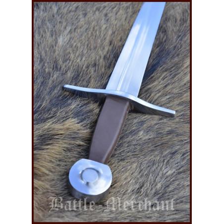 Épée médiévale à une main, contondante de combat