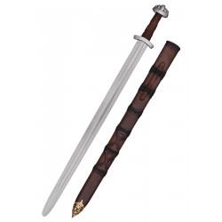 Épée Viking avec fourreau, 10e siècle, épée de combat SK-B