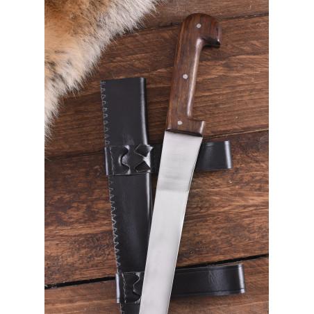 Couteau sax simple avec étui en cuir