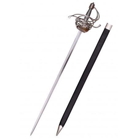 Rapière avec manche en fil de fer