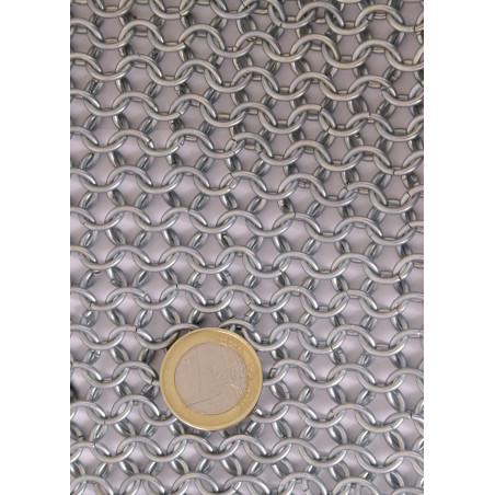 Cotte de mailles, galvanisée 9mm