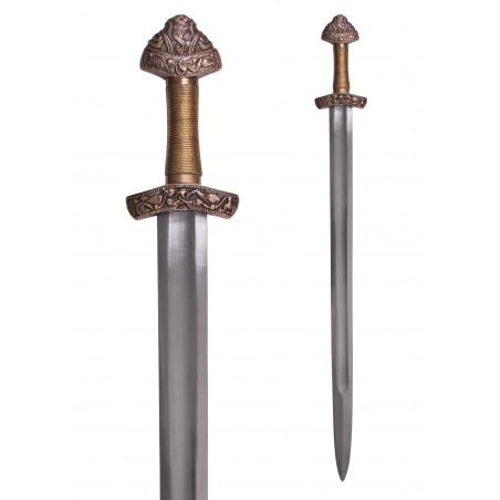 Épée viking en Dybäck avec fourreau, acier normal