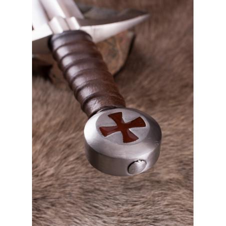 Épée de croisé forgée