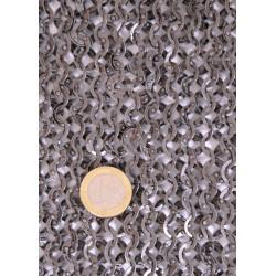 Camail, anneaux 8mm plats rivetés