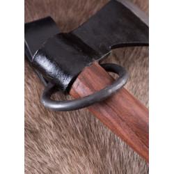 Boucle porte hache en acier forgé