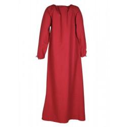 Robe médiévale Ana rouge