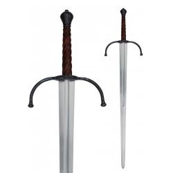Épée à deux mains de la fin du Moyen Âge, pour combat de démonstration