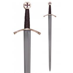 Épée Templier avec fourreau...