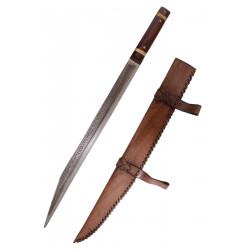 Sax de Beagnoth avec  fourreau en cuir