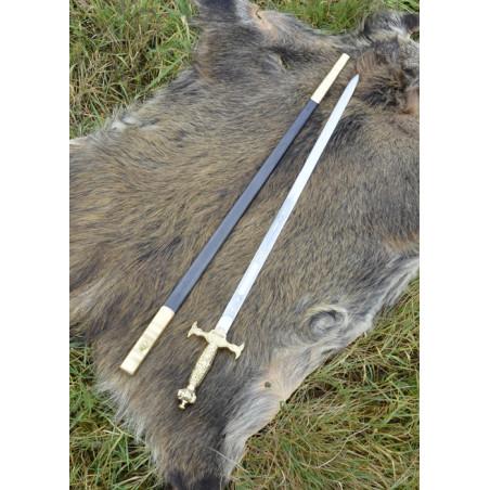 Épée de cérémonie des maçons, avec fourreau