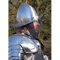 Demi-armure avec casque Morion