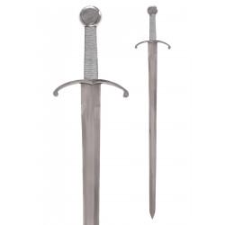 Épée en acier à une main
