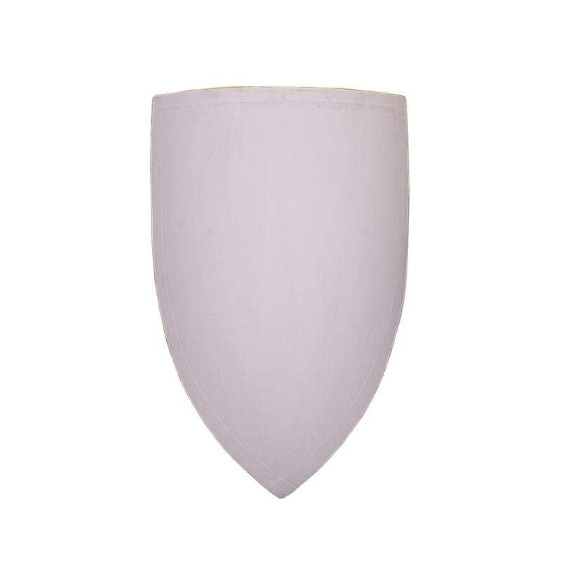 Bouclier en bois blanc personnalisable