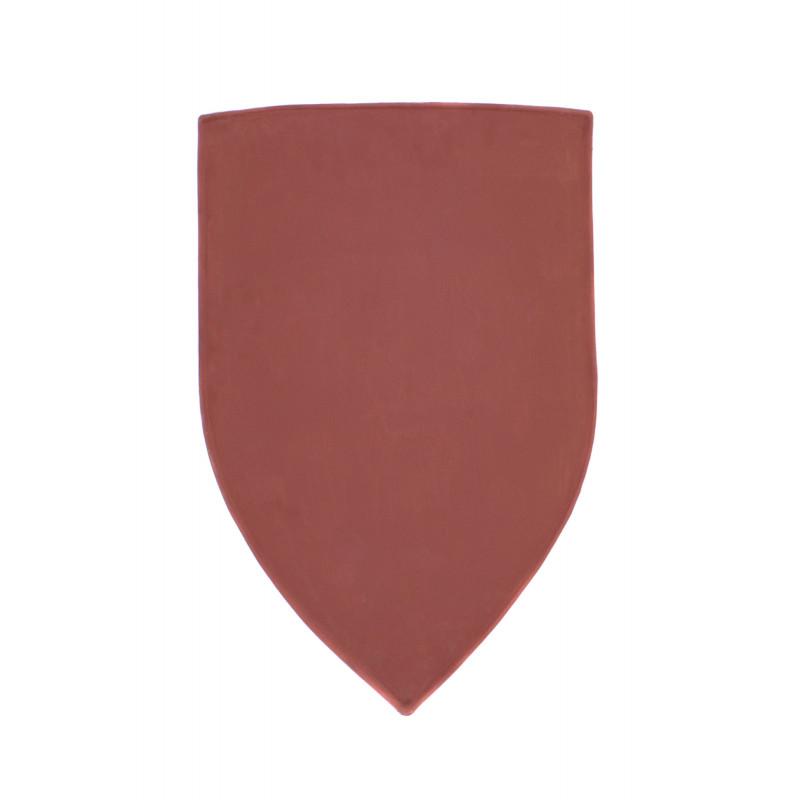 Bouclier rouge personnalisable