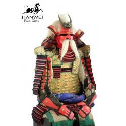 Armure du guerrier samouraï...