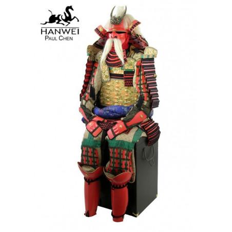 Armure du guerrier samouraï Takeda Shingen