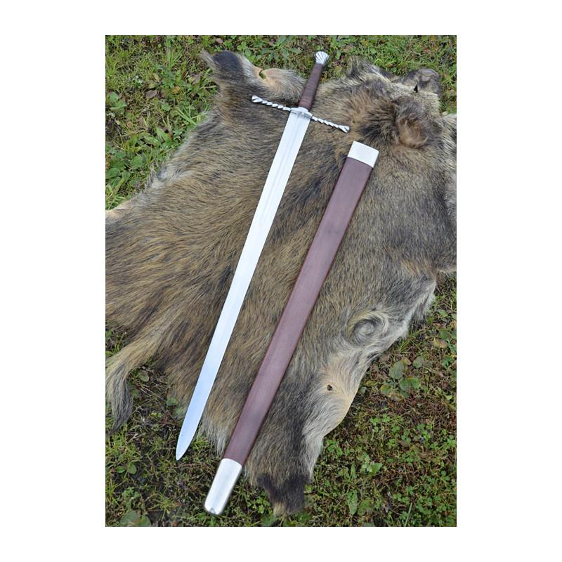 Épée bâtarde avec fourreau
