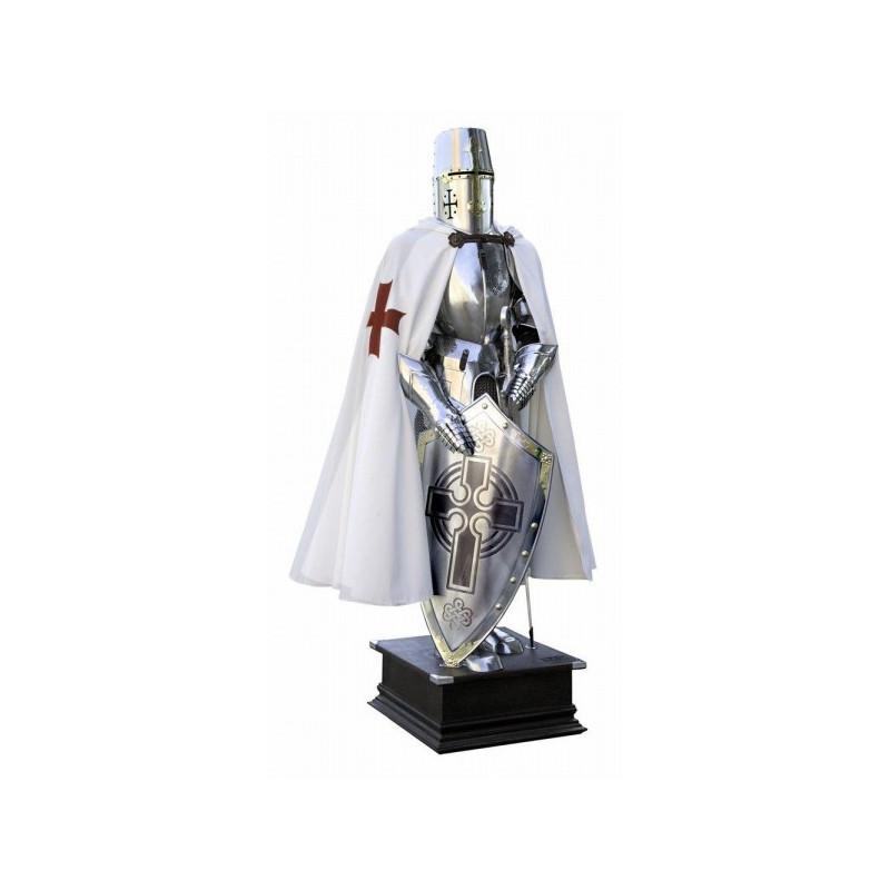 Armure de chevalier templier