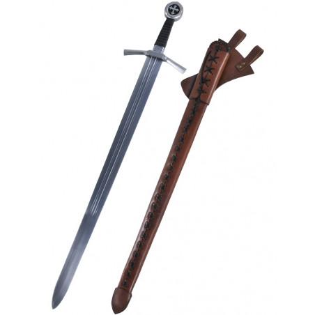Épée templier noire