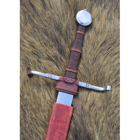 Epée à une main et demie avec fourreau , XVe siècle, Prête au combat