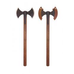 Double hache médiévale