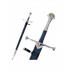 Épée Seigneur des Anneaux Anduril-Aragorn avec Fourreau