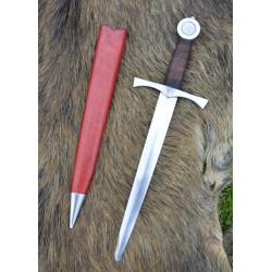 Dague médiévale de combat avec fourreau