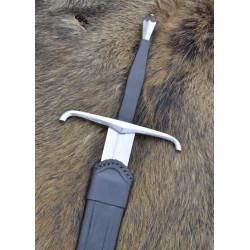 Epée Italienne à une main et demi avec fourreau prête au combat