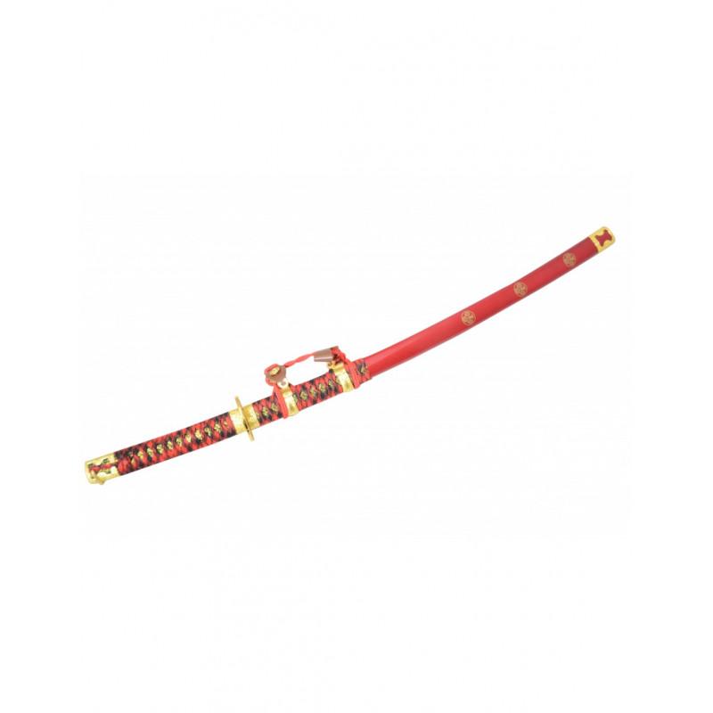 Katana tressage rouge