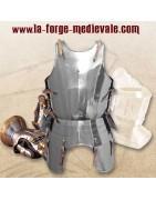 Venez découvrir une gamme d'armures faites  pour le combat médiéval !
