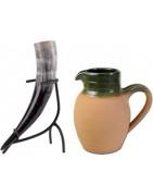 Mangez et buvez avec nos cornes et couverts médiévaux !